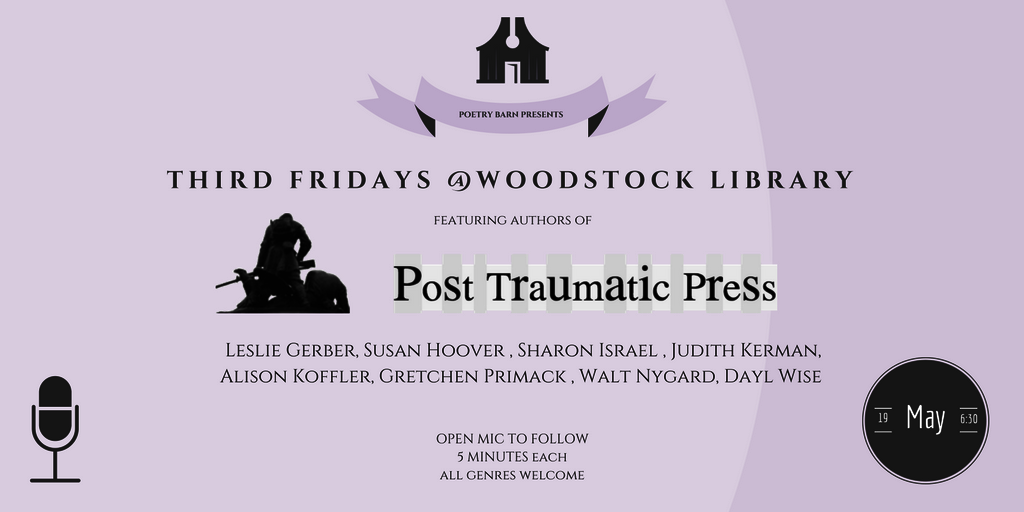 Poetry Barn Presents: Authors of Post Traumatic Press @ Woodstock Library | Woodstock | New York | United States