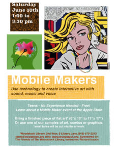 Mobile Makers @ Woodstock Library, 2nd floor | Plainview | New York | United States