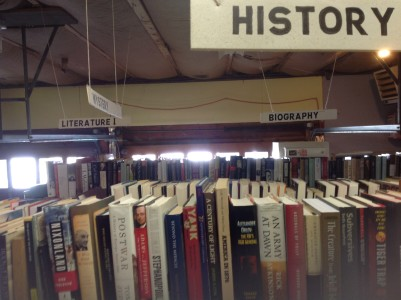 Book Sale at the Woodstock Library