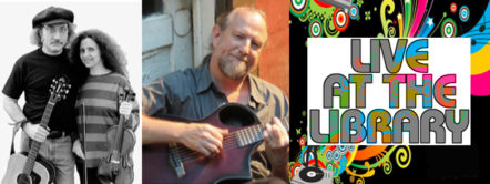 Live at the Library: Karen Whitman and Rick Pantell, plus Phil Miller