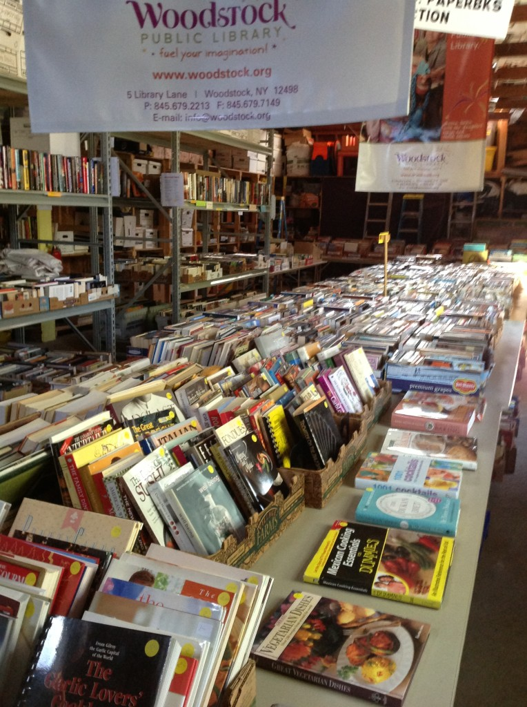 Thursday and Saturday Book Sales at the Woodstock Library Book Barn