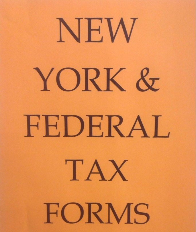 Tax Forms Sign