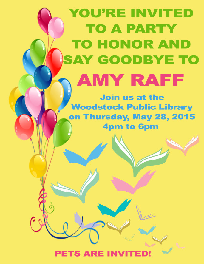 Amy Party Poster