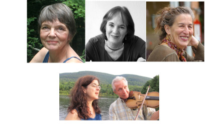 Live at the Library: Abby Newton, Lyn Hardy, & Selma Kaplan, and The Princes of Serendip