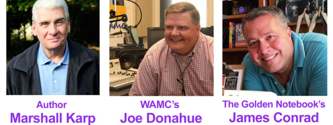 By the Book: A conversation with WAMC's Joe Donahue, author Marshall Karp, and the Golden Notebook's James Conrad