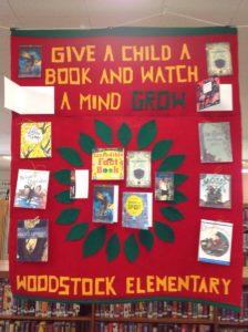 Book Drive Woodstock Elementary