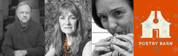 Poetry Barn presents: Astronomical Winter: A Conspiracy of Love Featuring Therese Broderick, Cait Johnson, and Will Nixon