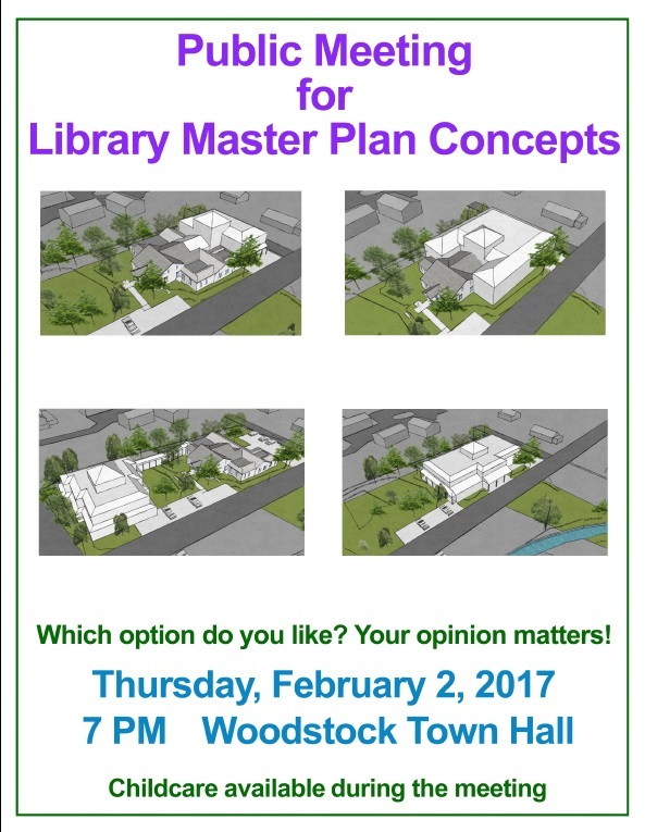 Public Meeting for Library Master Plan Concepts @ Woodstock Town Hall | Woodstock | New York | United States