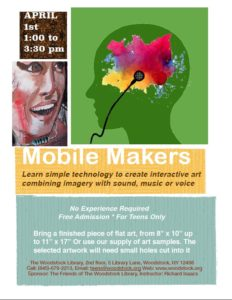 Teen Mobile Makers @ Woodstock Library 2nd floor | Woodstock | New York | United States
