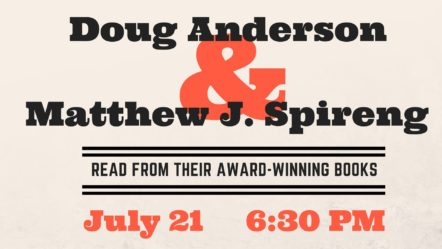 Poetry Barn: Doug Anderson & Matthew J. Spireng @ Woodstock Public Library District | Woodstock | New York | United States