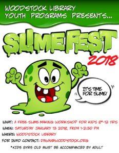 SlimeFest 2018 @ Woodstock Library | Woodstock | New York | United States