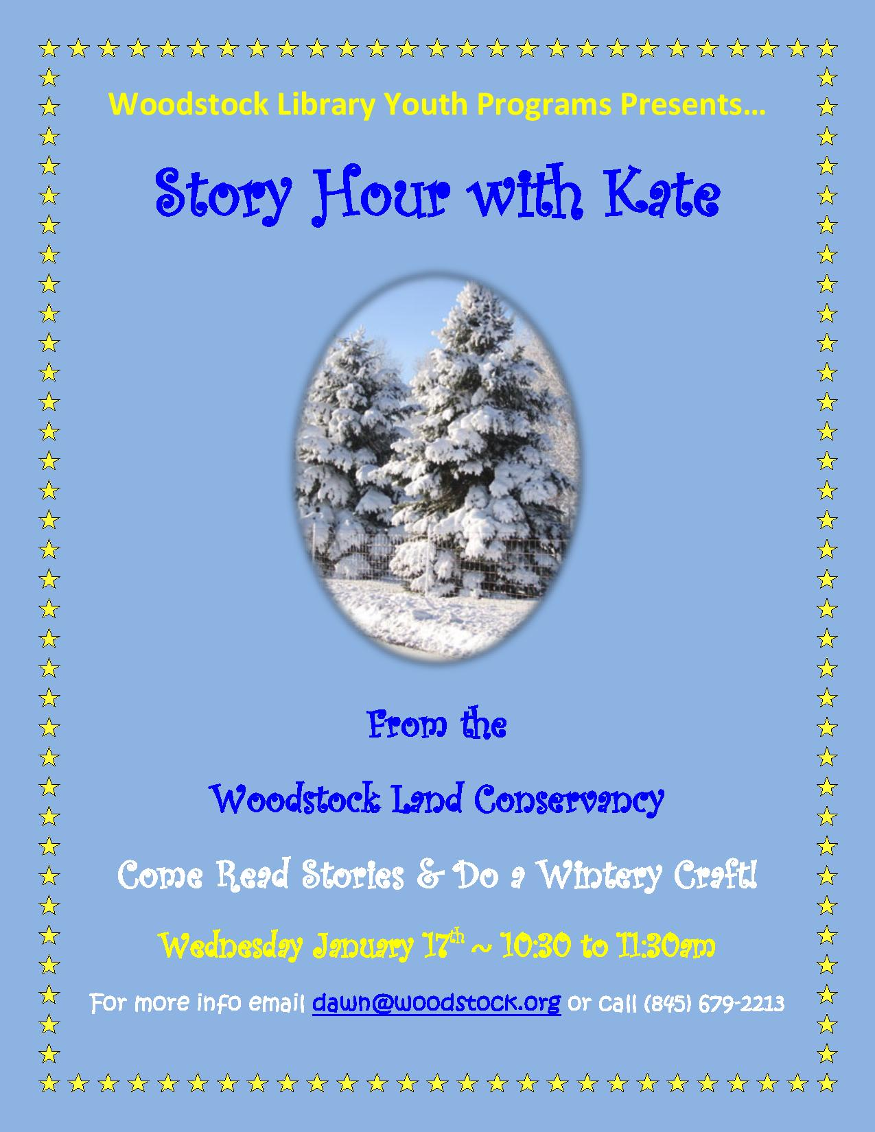 Story Hour with Kate @ Woodstock Public Library | Woodstock | New York | United States