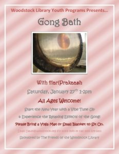 Gong Bath @ Woodstock Library | Woodstock | New York | United States