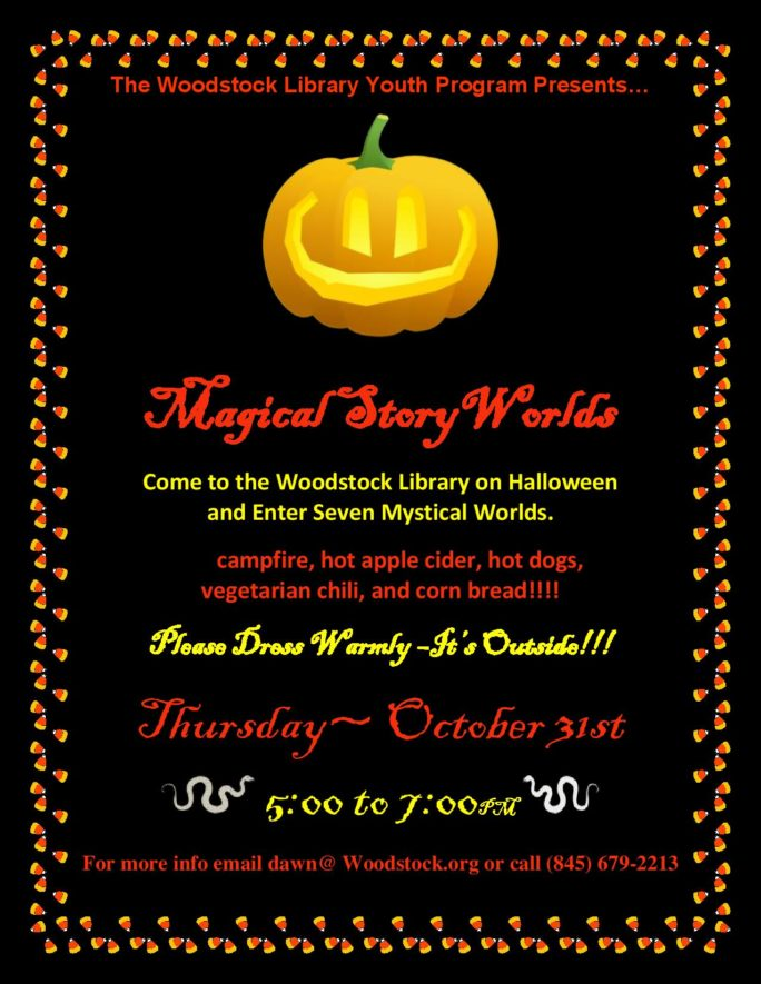 Woodstock Halloween Events 2020 Ny Woodstock Public Library District » Halloween Event  Magical Story